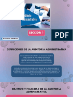 Auditoria Administ. Leccion 1