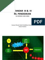 Standar III Dan IV RSP Edukasi Banjarmasin