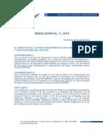 Resolucion 11-2010_normas de Uso de Guatecompras