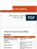 1.2 Internal Control and Risk