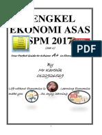Bengkel Dan Strategi Menjawab Ekonomi SPM 2017(soalan KBAT dan  nota ringkas Tingkatan 4 -Bahagian 1
