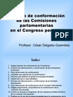 CDG - Cuadro y conformación proporcional de Comisiones parlamentarias (Perú, 2011)