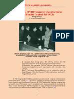 Jiang Yucmoi - Mao Zedong, El VIII Congreso Nacional y Las Dos Líneas en El CC Del PCCh (2012) - CM-L