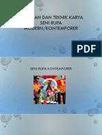 KEUNIKAN DAN TEKNIK KARYA SENI RUPA MODERN.pptx