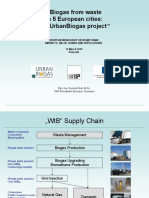 Biogas From Waste in 5 Europe Cities