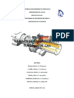 Combustor Turbina Gas