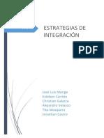 Estrategias de Integracion
