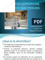 Limpieza Electrolitica