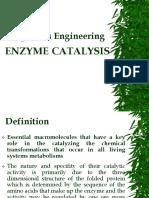 Bio Engineering, Enzyme Catalysis.pdf