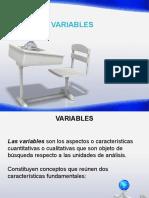 3. Las Variables