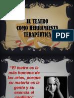 El Teatro Como Herramienta Terapeutica