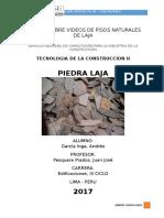 Informe Piedra Laja