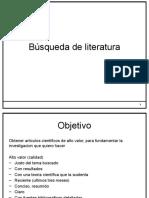 4 Busqueda de Literatura