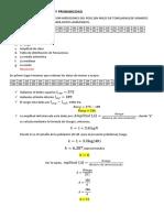 Ejercicios de Estadística y Probabilidad