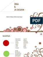 Materi 6 Disain Multimedia Dasar Warna Dan Semiotika Disain