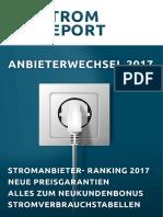 Strom Report 2017