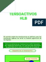 8. TENSOACTIVOS - HLB