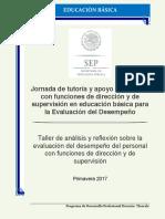 Taller de análisis y reflexión sobre la Evaluación del Desempeño Directivo 17 copia