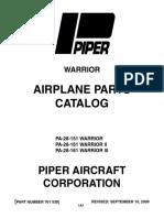 Piper 761-538 Warrior Pc v2009