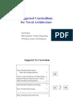 PLR Suggested Naval Architecture Curriculum