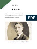 Hace 112 Años Nació Juan Jose Arevalo