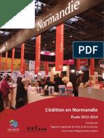 L'édition en Normandie 2012-2014