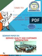 Service Seminer Ppt