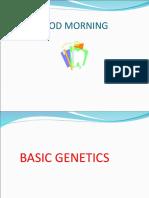Basic Genetics Part II