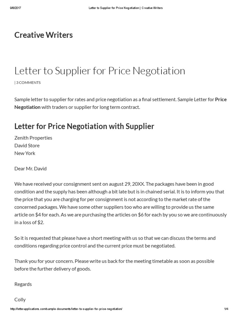 cost to mail a letter letter to supplier for price negotiation creative 20978 | 1525825503?v=1