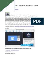 WinX HD Video Converter Deluxe 5