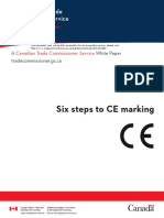 6 Steps to CE Marking