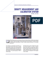 Density Measurement and Calibration Experiment System SE302