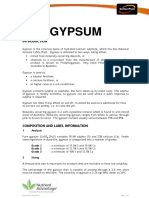 Composition of Gipsum