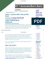 Informacion Arduino Mega