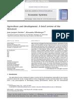 Dethier ES Agriculture&Development2012