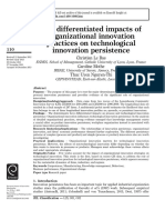 08. The Differentiated Impacts of Organizational Innovation Practices on Technological Innovation Persistence.pdf