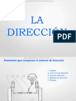Curso Sistema Direccion Elementos Partes Componentes Tipos Procedimiento Pasos Desmontaje Desarmado Cotas Angulos
