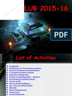 Annual Report IT Club
