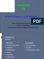 Diagnosis ISK