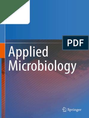 Sanjai Saxena (Auth )-Applied Microbiology-Springer India