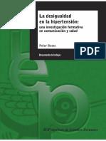 La Desigualdad en La Hipertension