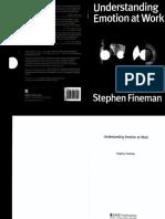Fineman - Understanding Emotion at Work