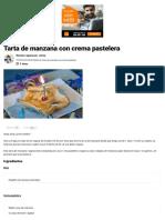 Tarta de Manzana Vegana Mis Recetas Veganas Fáciles