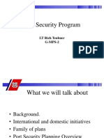 Port Security Program Presentation 2003