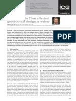 How Eurocode 7 Has Affected Geotechnical Design Trevor Orr