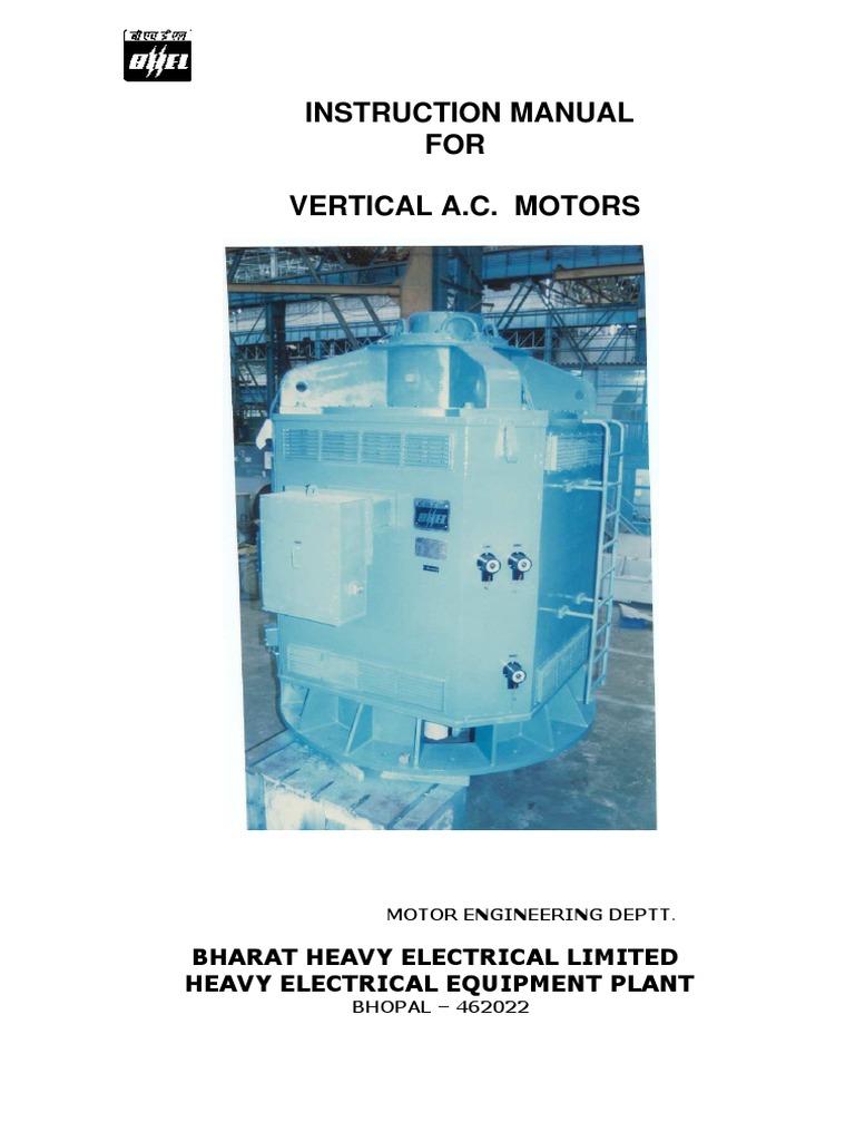 Vertical Ac Motor | Bearing (Mechanical) | Hvac