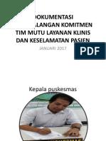 9.1.1.1 DOKUMENTASI PENANDATANGANAN KOMITMEN TIM MUTU LAYANAN KLINIS.pptx