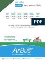 Arbus Pacifico Palermo