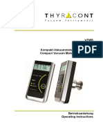 Vacuômetro Digital