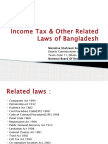 Income Tax & Other Related Laws